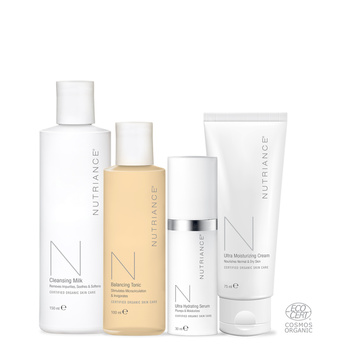 Nutriance Organic Set Man, Normal to Dry skin