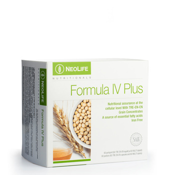 Formula IV Plus, Multivitamin- and mineral food supplement