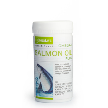 Omega-3 Salmon Oil Plus, Fish Oil Food supplement